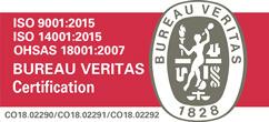 certificación del Sistema de Gestión Integrado HSEQ
